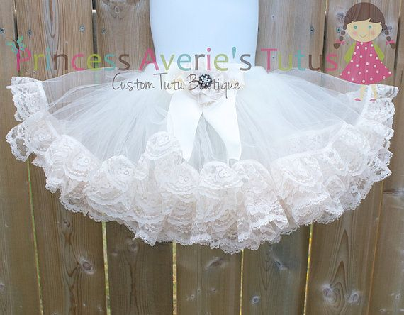How to make a tutu dress with lace