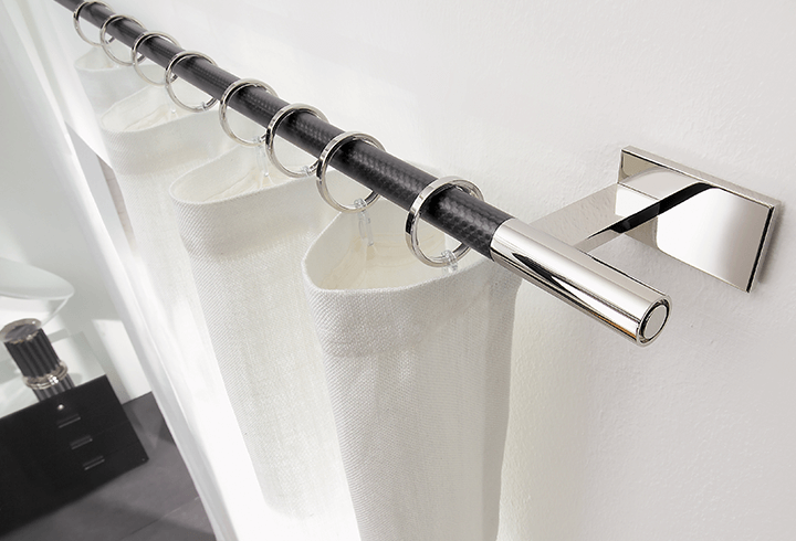Window Curtain Rod Hardware For Modern Designs Modern Curtain