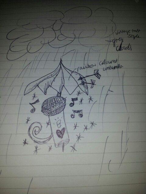 My very own tattoo design! Copyright: micheala