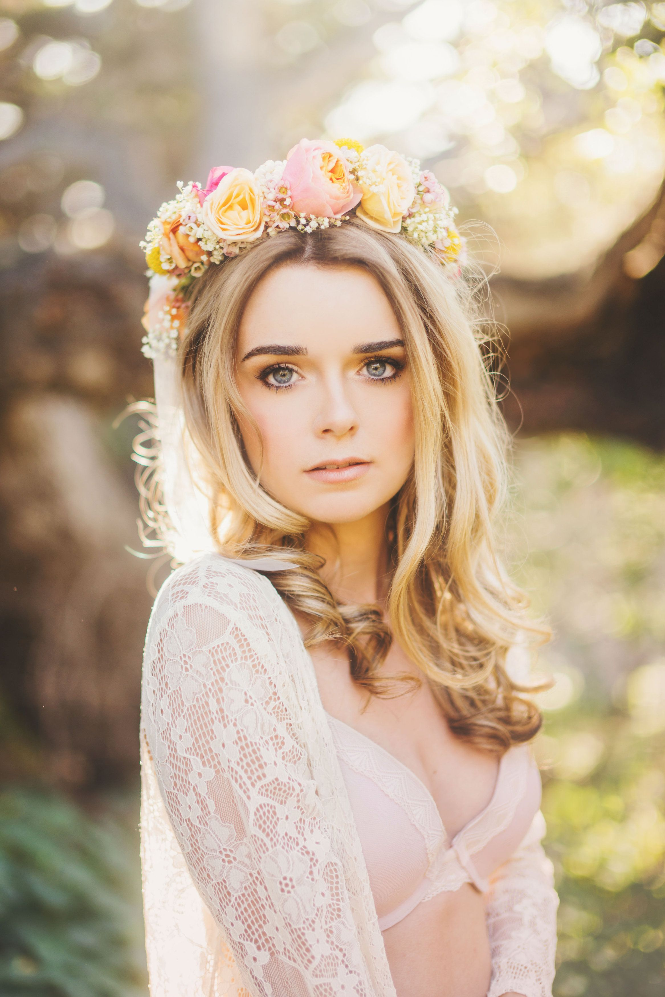 Boudoir Photoshoot/ Michelle Roller Photography/ Blissful Blossoms #Boudoir #Photoshoot #MichelleRollerPhototgraphy #Photography #flowercrown #blissfulBlossoms #CentralCoast