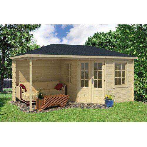 Sol 72 Outdoor 500 cm x 300 cm Gartenhaus Isaak | Wayfair.de #Überdachungterrasse