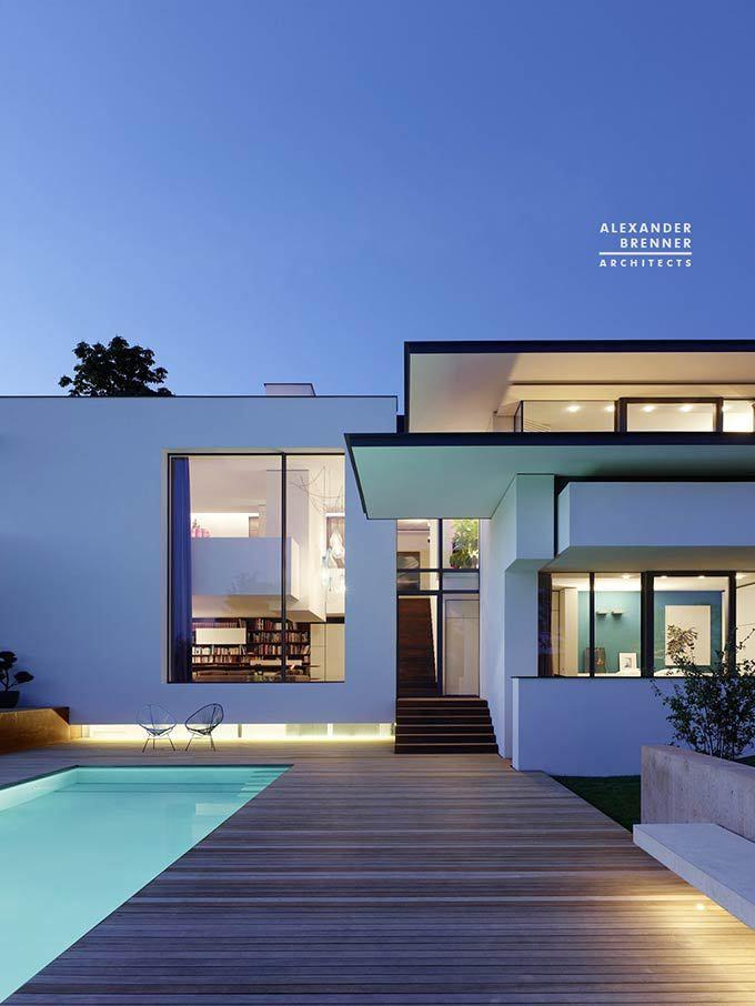 Vista House. Luxury Property by Alexander Brenner Architects at Stuttgart, Germany.