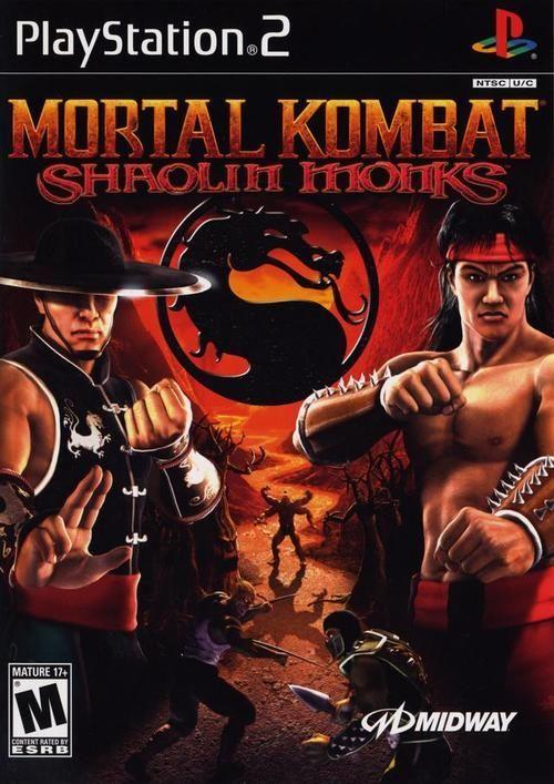 Mortal Kombat Shaolin Monks Ps2 Game Mortal Kombat Shaolin