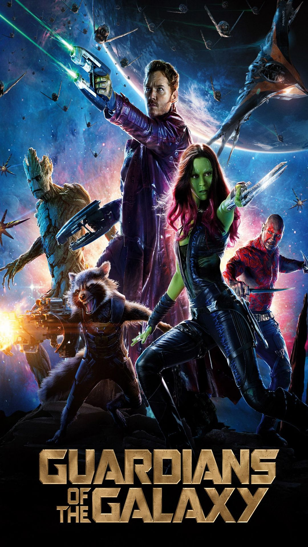 Tap And Get The Free App Movies Guardians Of The Galaxy Groot Rocket Star Lord Gamora Colorful Comics Act Galaxy Movie Guardians Of The Galaxy Galaxy Poster