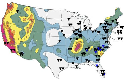 Map Of Nuclear Waste Storage Sites Google Search Banks Money - Map of nuclear waste sites in us