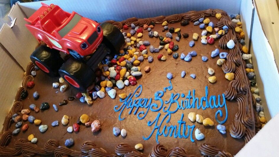 Tremendous Blaze And The Monster Machines Created With A Costco Cake And Funny Birthday Cards Online Overcheapnameinfo