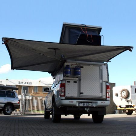 Alu Cab Shadow Awning Expedition Vehicles Truck Camper