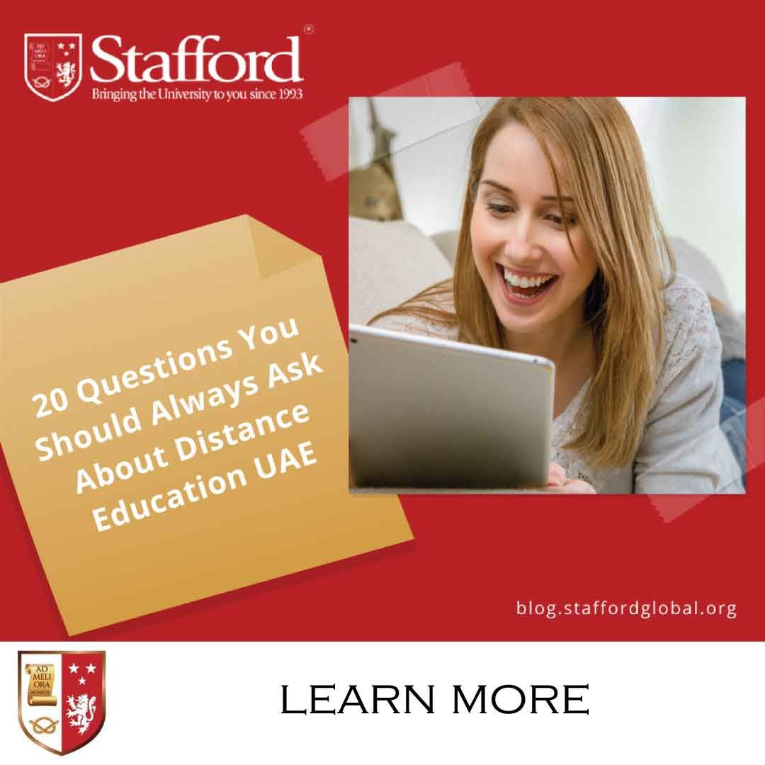 20 Questions You Should Always Ask About Distance Education