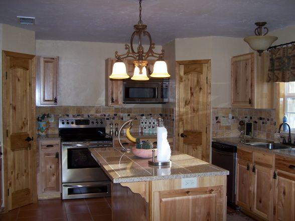 Kitchen Backsplash Hickory Cabinets kitchen backsplash ideas with hickory cabinets   kitchens