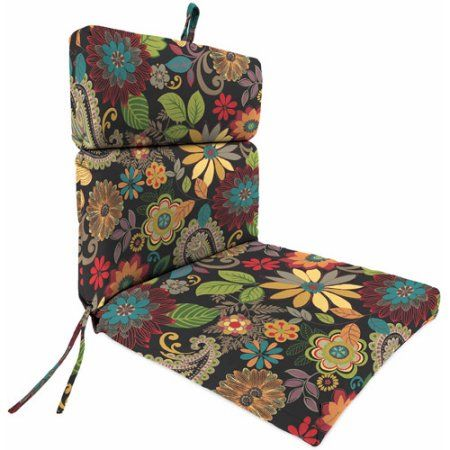 Jordan Manufacturing Outdoor Patio Chair Cushion Outdoor Patio
