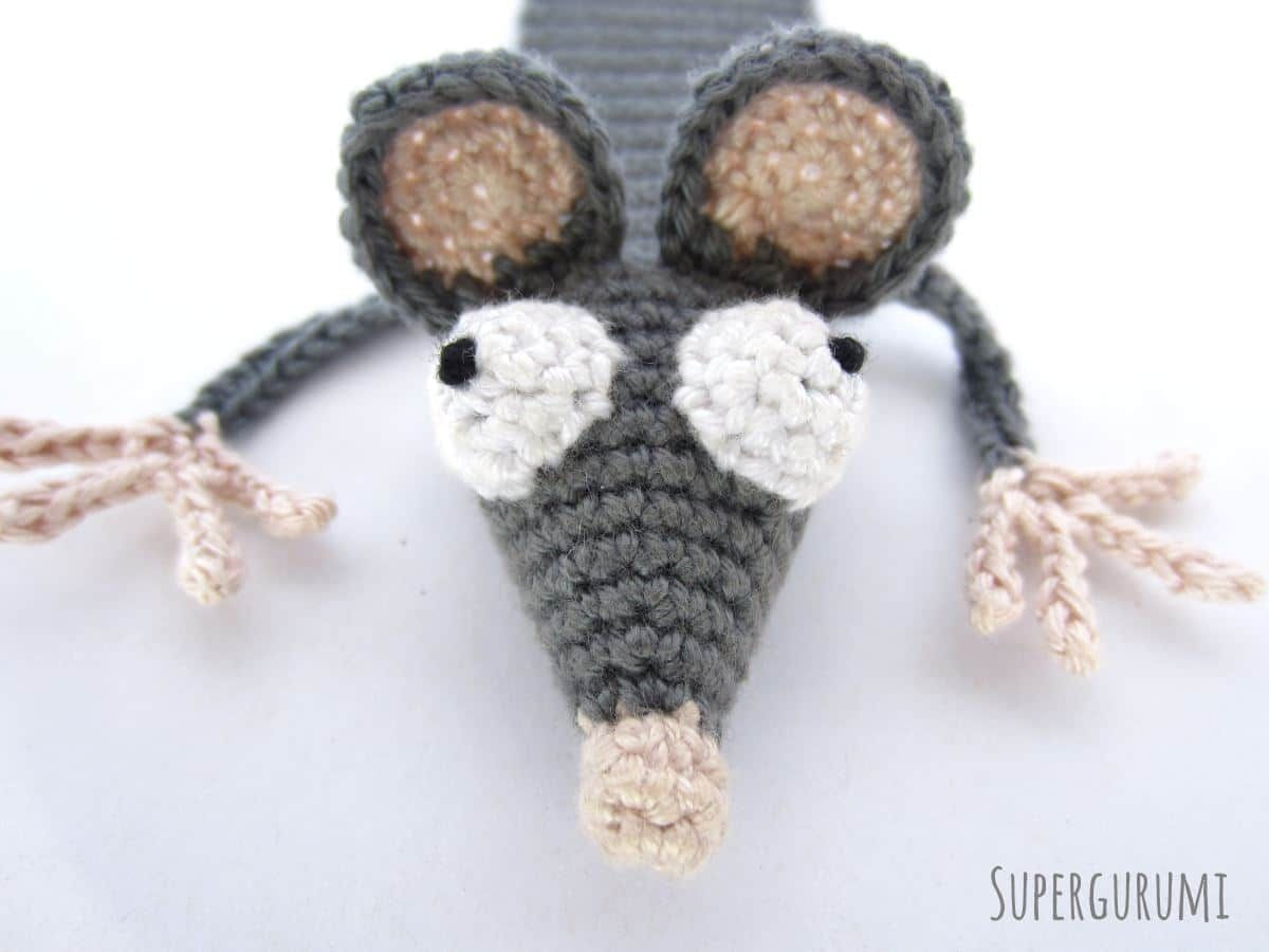 Amigurumi rat pattern from the book Cuddly Amigurumi Toys | lilleliis | 900x1200