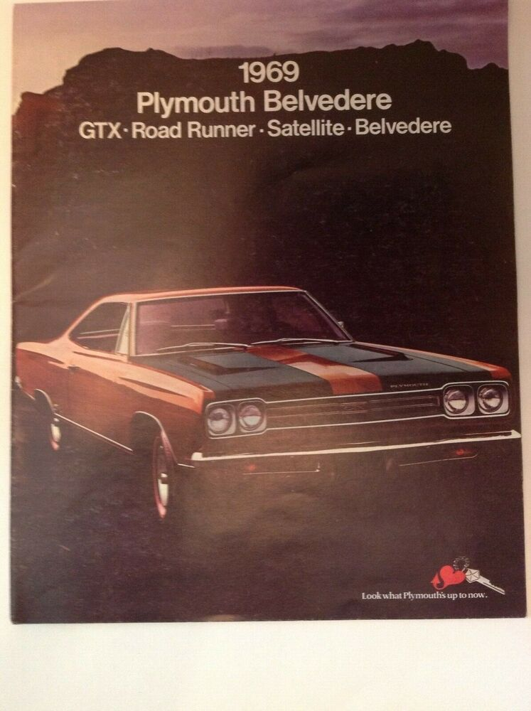 1969 Plymouth Chassis Assembly Manual Road Runner Gtx Belvedere Satellite Service Repair Manuals Vehicle Parts Accessories Vehicle Parts Accessories Car Manuals Literature