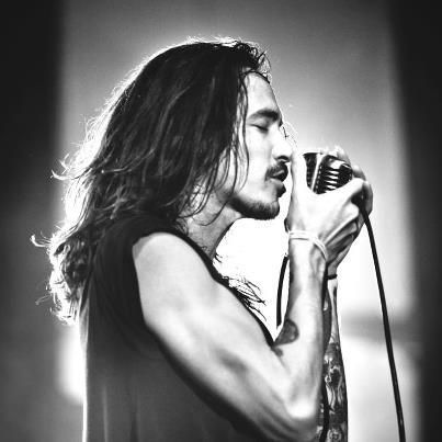 Brandon Boyd. His voice is as beautiful as his skin...