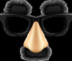 Handsome Glasses Funny Glasses Funny Mask Funny Tshirt Design