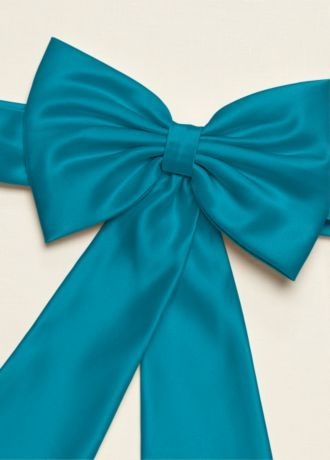 fe3332add7 Satin Flower Girl Sash with Back Bow Style S1041