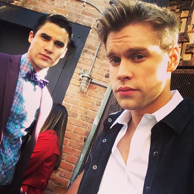 Chord overstreet dating chris colfer land