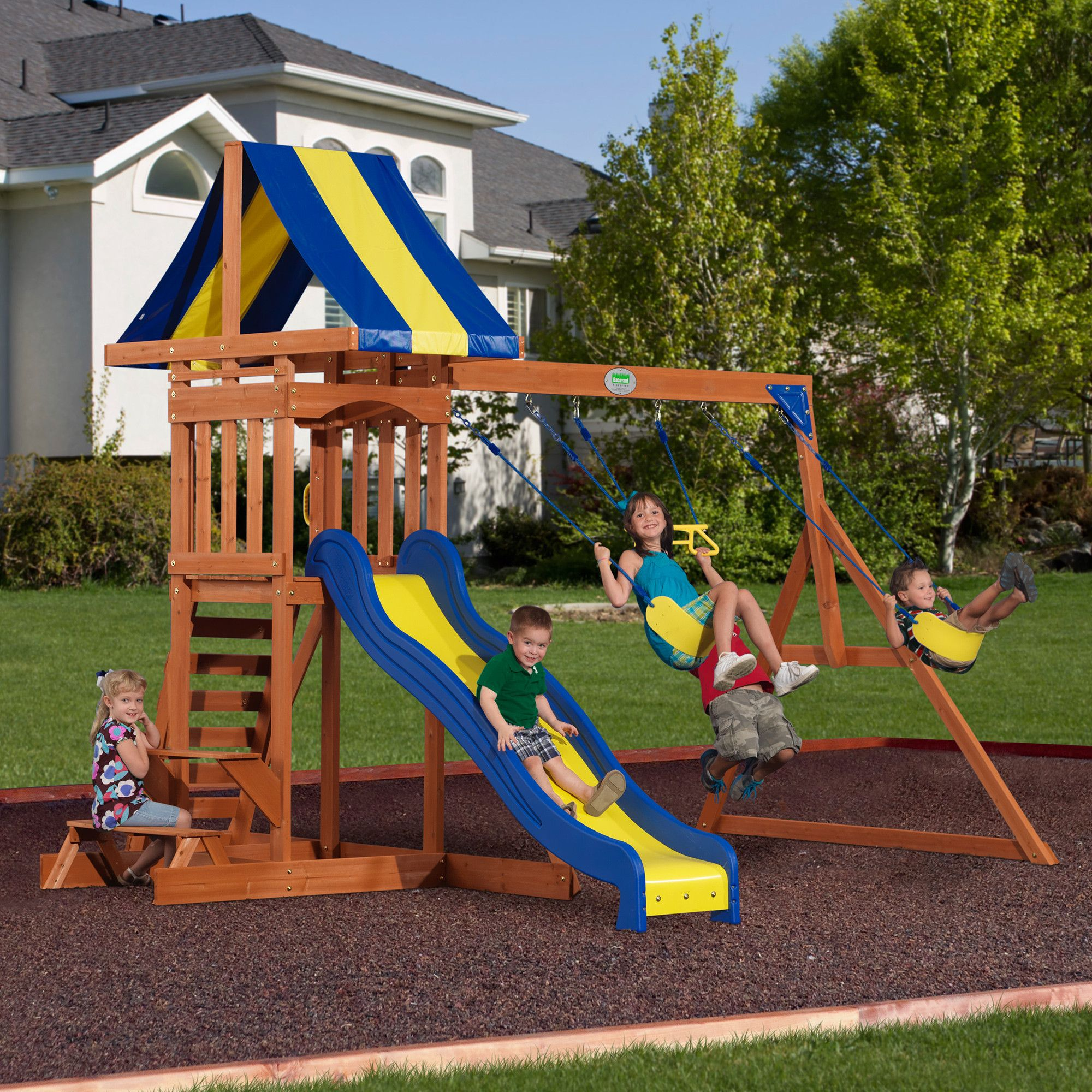 providence wooden swing set wooden swings swings and wall ladders