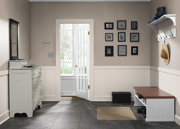 Bathrooms Hallway Upstairsi Used These Colors Ashen Tan N220 2 Studio Taupe Ppu5 07