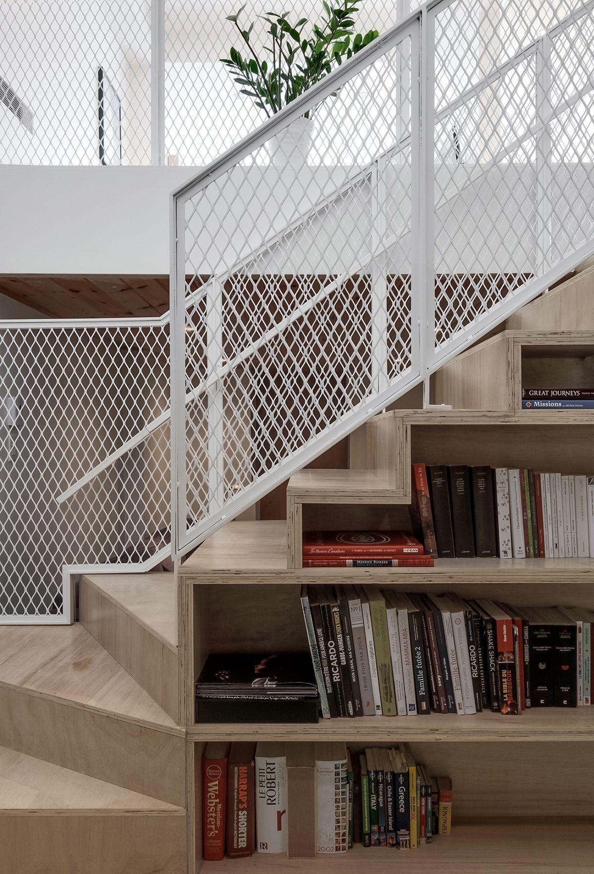 Innenfarbe im haus projet chabot  by appareil architecture  pinterest  architecture
