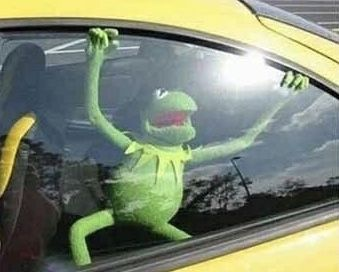 We Are All Gods Childeren And He Has Left Us In A Hot Car Sapo Meme Memes Bonitos Memes Engracados