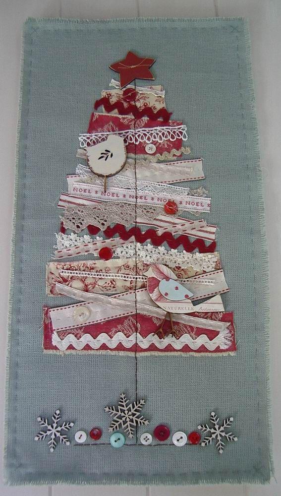 Fat Quarter Ideas For Christmas Homemade Art Christmas Crafts