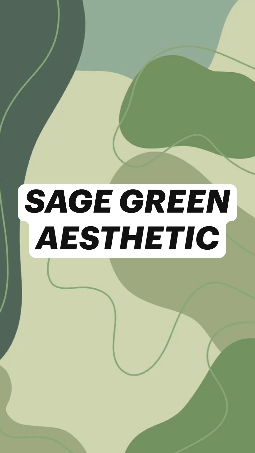 sage green aesthetic pictures