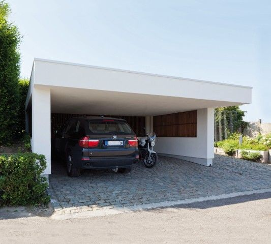 Moderne carports in hout   Bogarden   Architecture/Interior Design ...