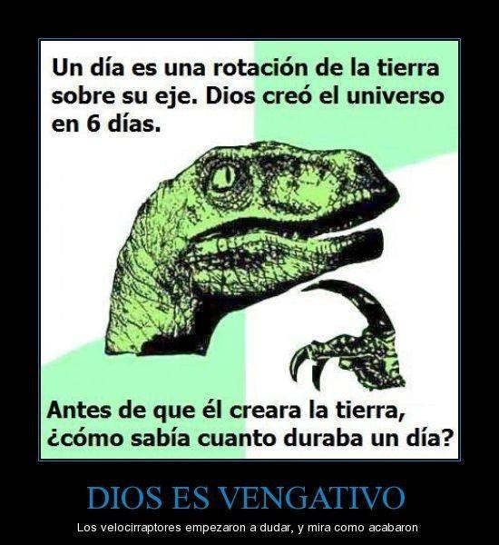 Dios es vengativo I