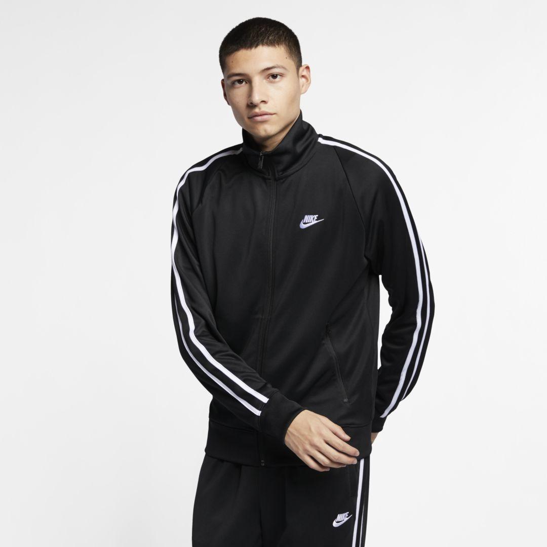 4ed8ecff2 Nike Sportswear N98 (Loose Fit) Men's Knit Warm-Up Jacket Size 2XL Tall  (Black)