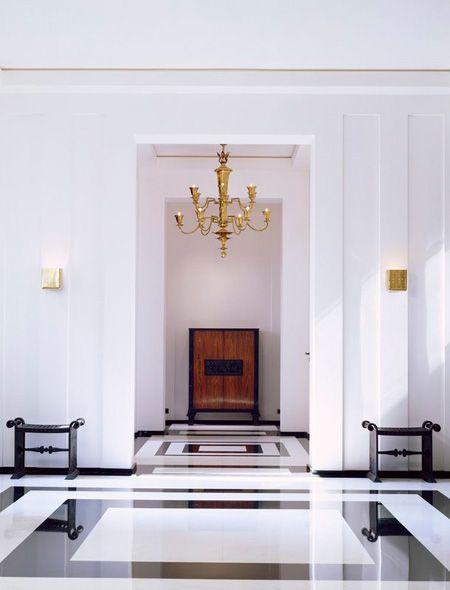 floor in hallway