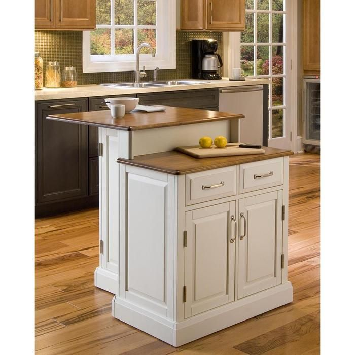 Innovative Island 2 Different Height Base Cabinets Awesome White Kitchen Island Antique White Kitchen Portable Kitchen Island