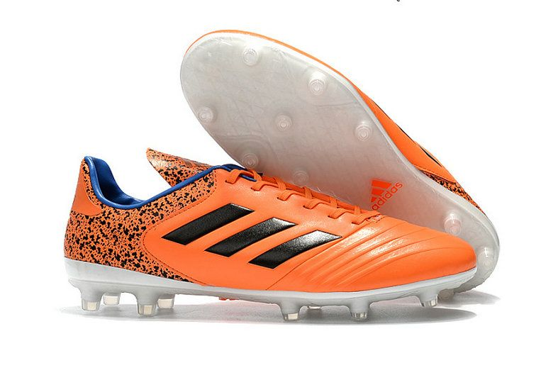 promo code 7584f af990 Adidas Copa 18 1 Fg Football Boots Orange Black White Factory Authentic  Sneaker