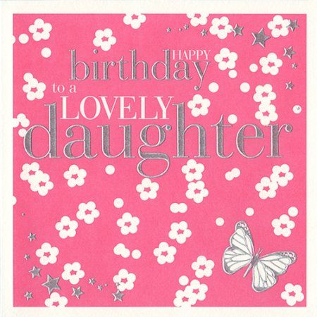 birthday cards for daughter from mom – Birthday Card for Daughter