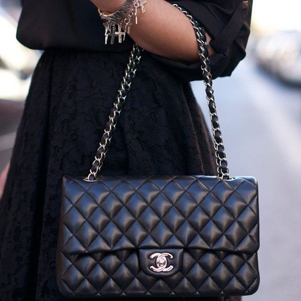 Сумка Chanel на цепочке (56 фото)  маленькая, оригинал   style ... 63c6dafa871