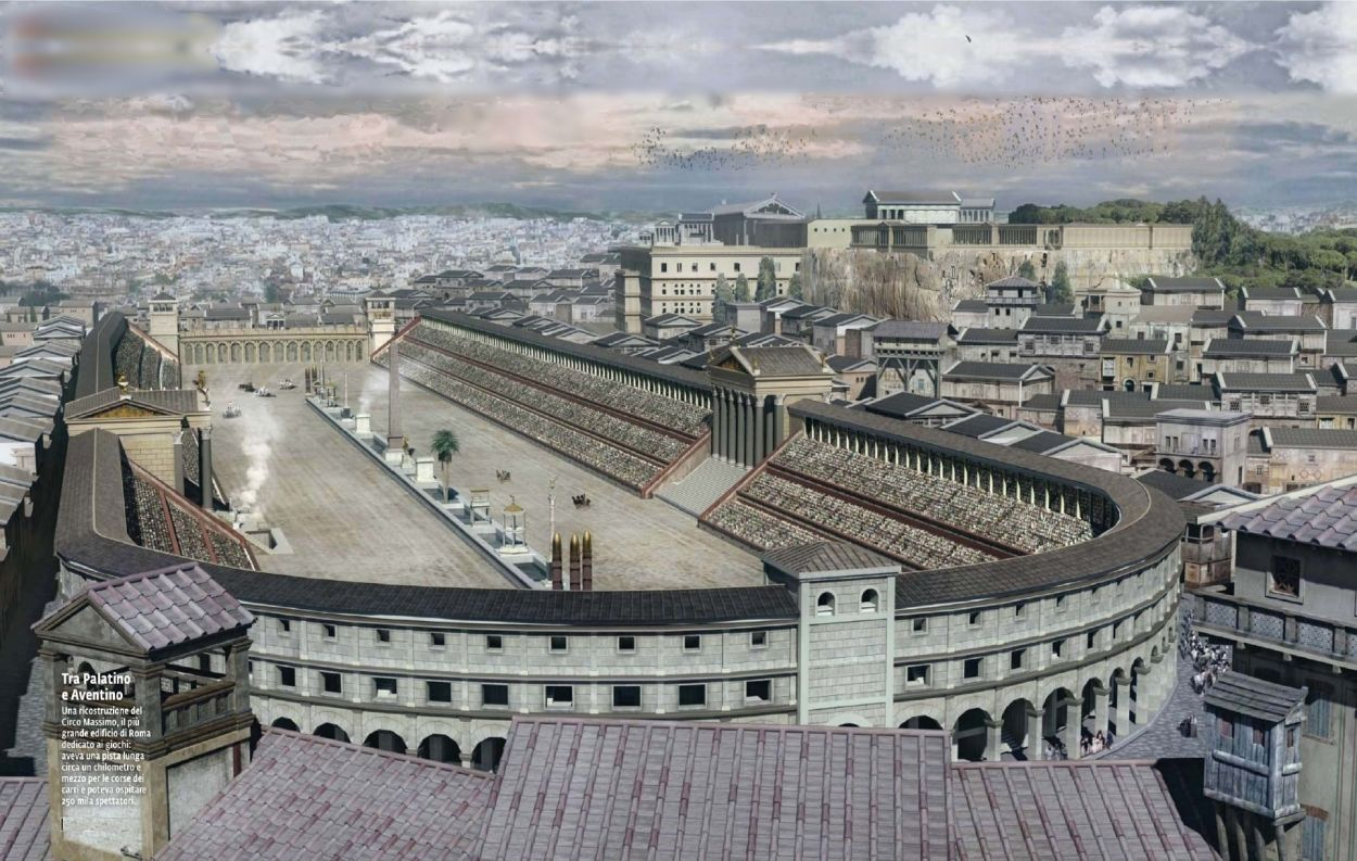 the circus maximus was one of the largest roman chariot