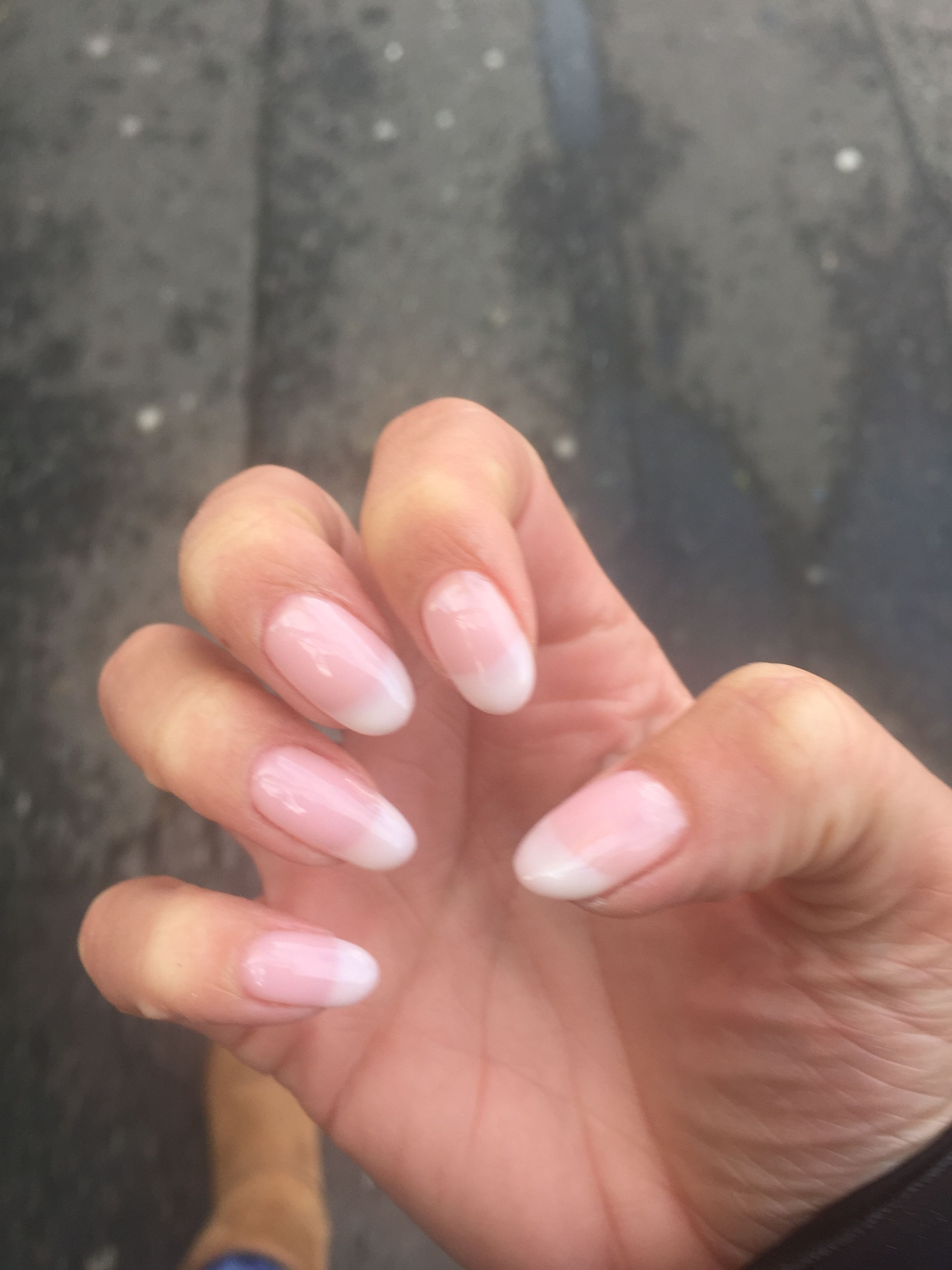 Natural Gel American Style Nails