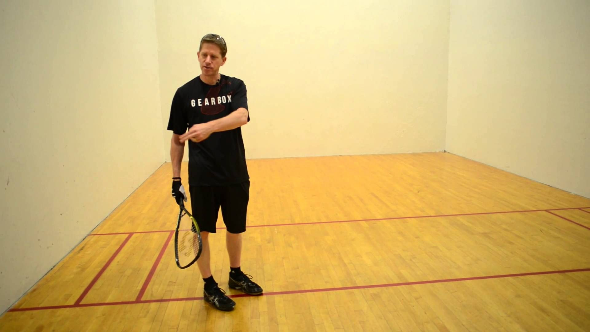 how to play racquetball rules