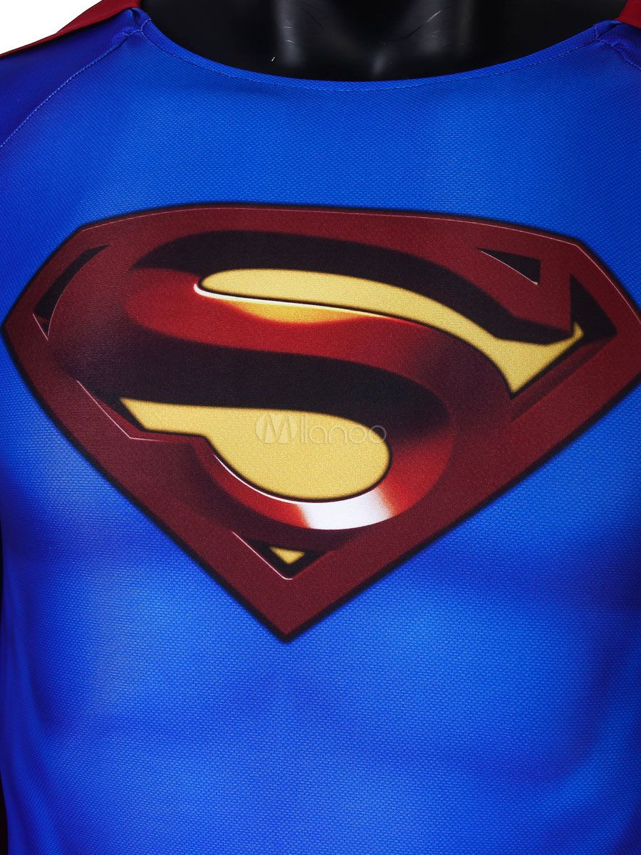 Superman Returns Superman Cosplay Lycra Spandex Catsuits DC Comics ...