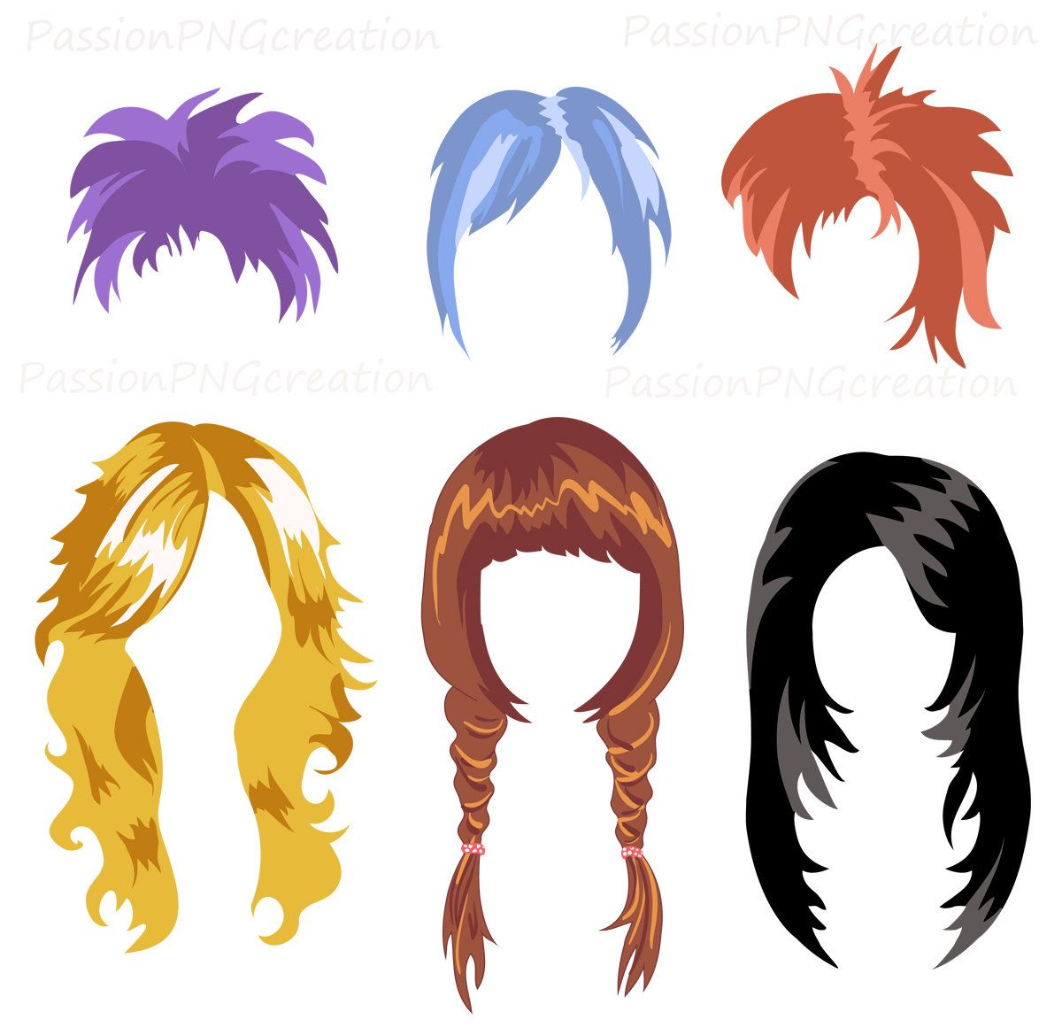 Free Hairstyle: Free Printable Photo Booth Props Hair
