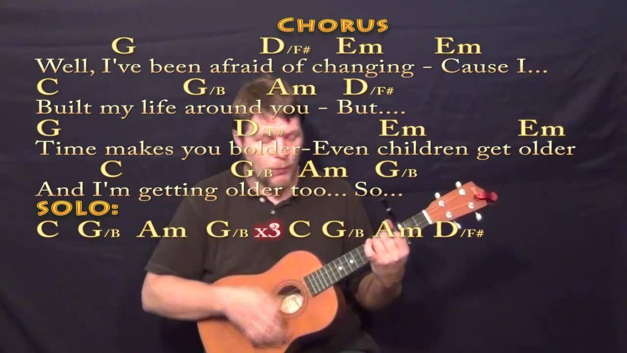 Landslide Fleetwood Mac Baritone Ukulele Cover Lesson With Chords
