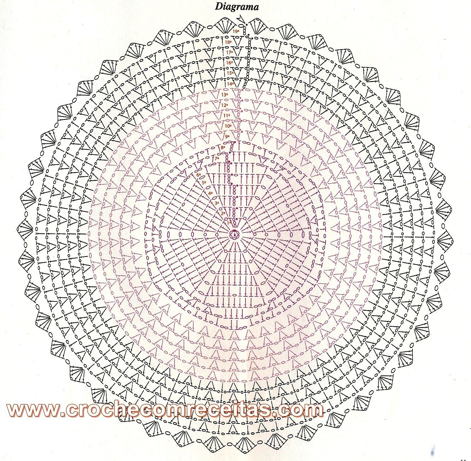 Patrones Crochet: Patron Crochet Chaleco Circulo | Decke | Pinterest