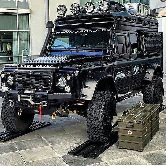 If The A-Team Had A #landrover By @todoterrenovzla4x4