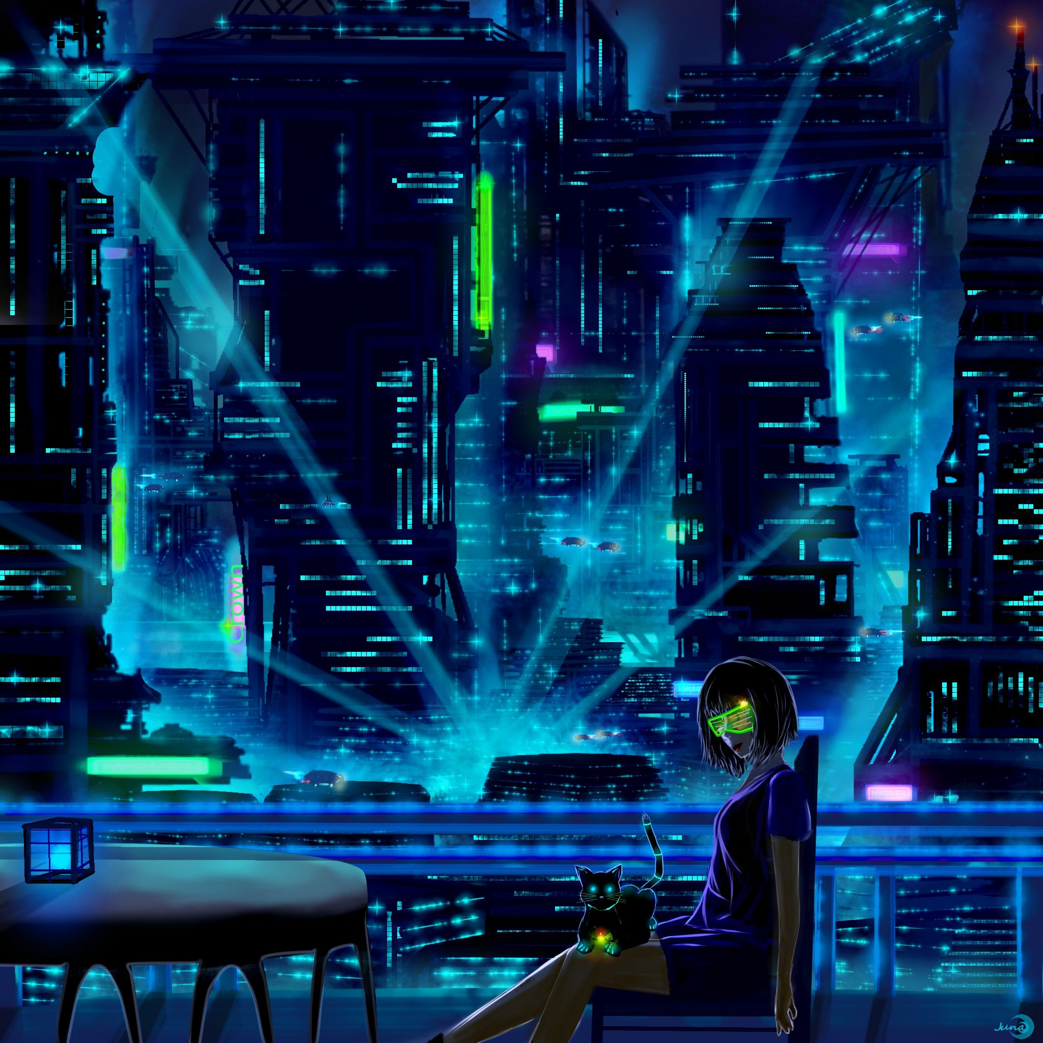 Cyber City by Mondmaedle on deviantART and Pinterest