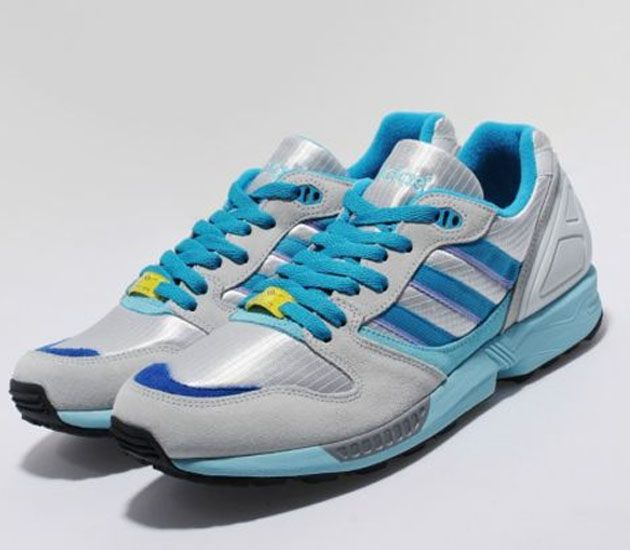 cheaper 871d5 ead44 adidas Originals ZX 5000 OG - Light Grey / Turquoise (Size ...