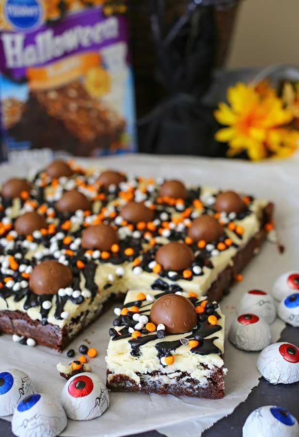 Halloween Brownies #halloweenbrownies