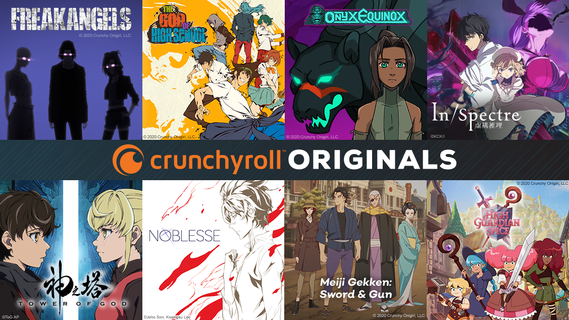 Crunchyroll Announces 7 Original Projects for 2020