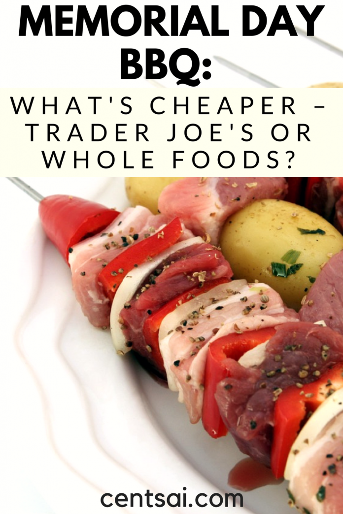 Cheap Memorial Day Bbq Ideas Trader Joe S Vs Whole Foods Memorial Day Foods Whole Food Recipes Food