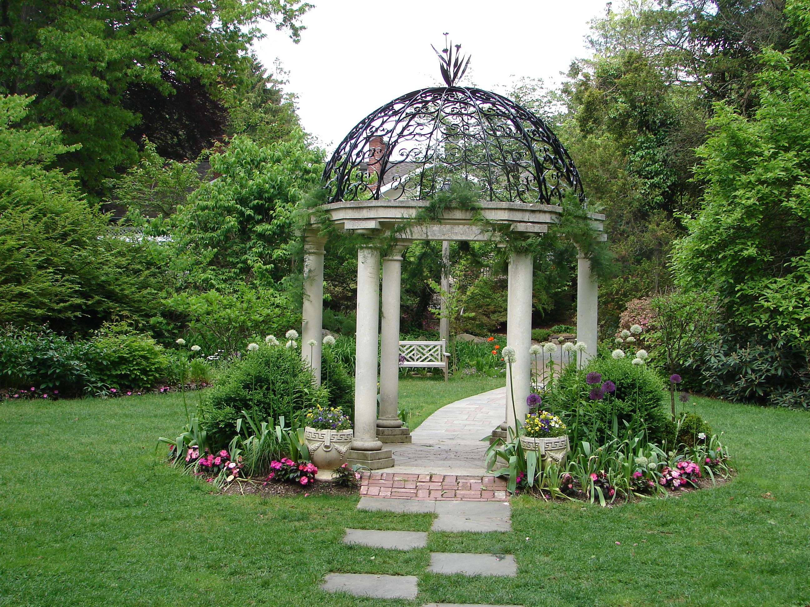 Peaceful Gazebo Garden Garden Gazebo Outdoor Gazebos Gazebo Wedding