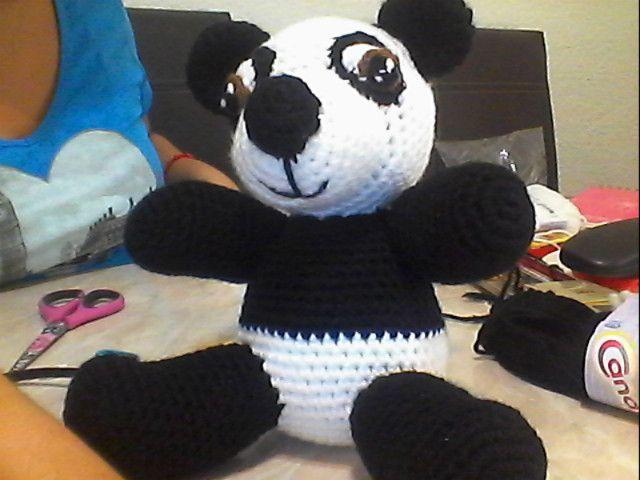 Amigurumi Oso Panda Patron : Patron oso panda amigurumi modelo amigurumi crochet