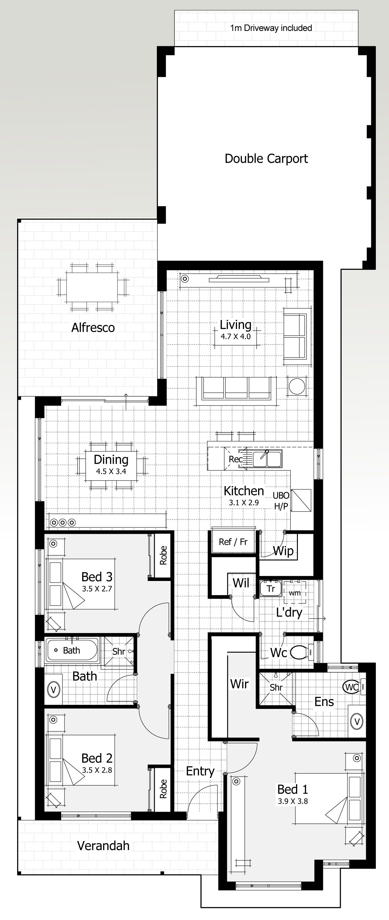 11 And 12 Metre Wide Home Designs | Home Buyers Centre